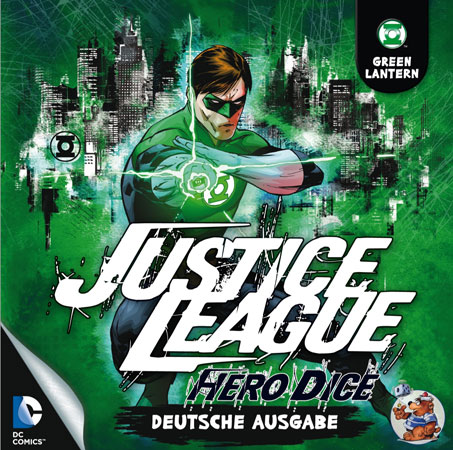 Justice League: Hero Dice - Green Lantern-Set