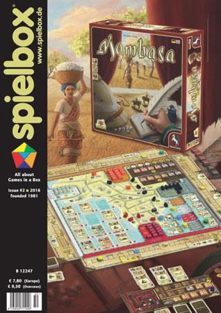 Spielbox 02/2016 englische Ausgabe