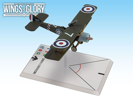 Wings of Glory WW1: Sopwith 1 1/2 Strutter Comic (78 Squadron)