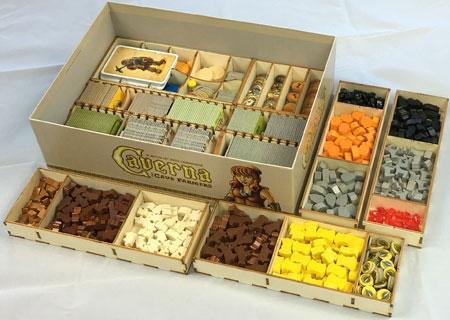 GeekMod - Sortierbox aus Holz für Caverna