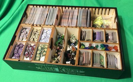 GeekMod - Sortierbox aus Holz für Mage Knight