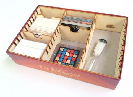 GeekMod - Sortierbox aus Holz für Codenames