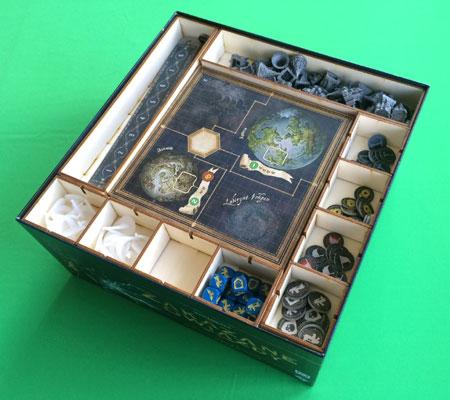 GeekMod - Sortierbox aus Holz für Verbotene Welten