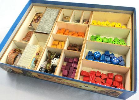 GeekMod - Sortierbox aus Holz für Auf Spuren von Marco Polo