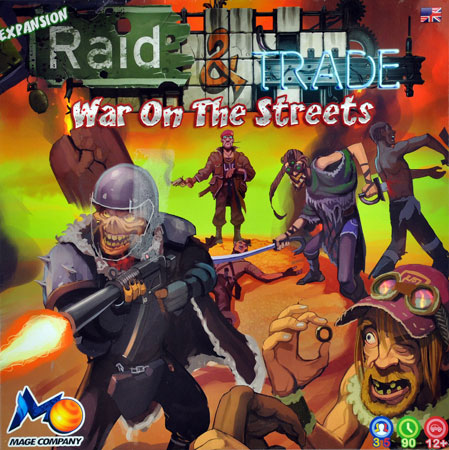 Raid and Trade - War on the Streets Erweiterung (engl.) - bemalt