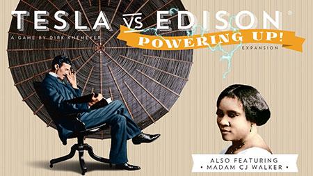 Tesla vs. Edison - Powering Up! Erweiterung (engl.)