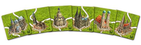 Carcassonne - Kathedralen in Deutschland Erweiterung