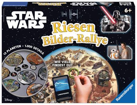 Star Wars - Riesen Bilder-Rallye
