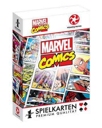 Number 1 Spielkarten - Marvel Retro