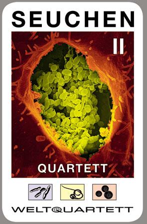 Seuchen Quartett II (mit COVID-19 Karte)