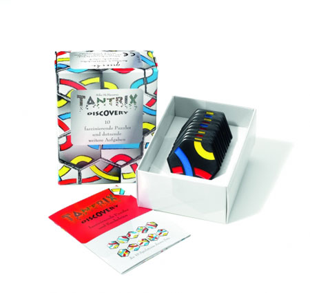 Tantrix Discovery - schwarze Spielsteine