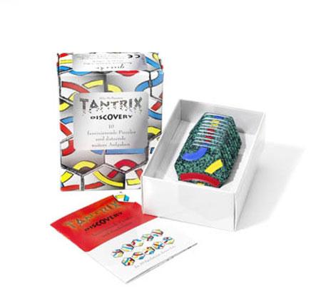 Tantrix Discovery - grüne Spielsteine