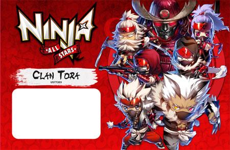 Ninja All-Stars - Clan Tora Erweiterung