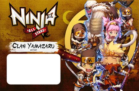 Ninja All-Stars - Clan Yamazaru Erweiterung