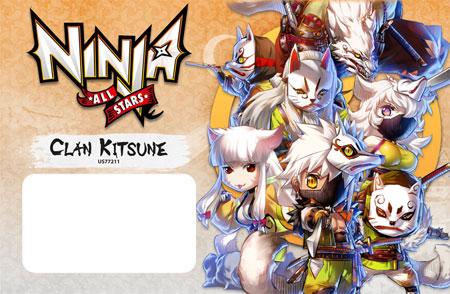 Ninja All-Stars - Clan Kitsune Erweiterung
