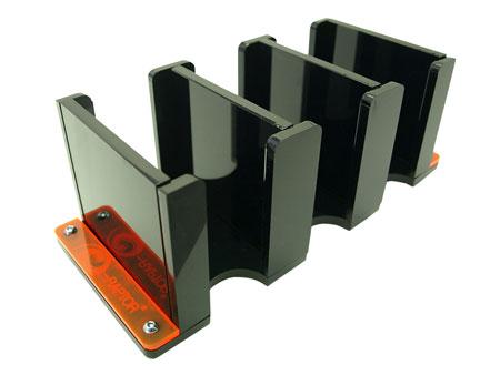 e-Raptor Kartenhalter - 3S Solid (Plexiglas schwarz)