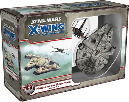 Star Wars X-Wing: Helden des Widerstandes Erweiterung