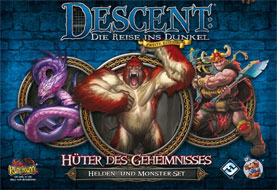 Descent 2. Edition - Hüter des Geheimnisses: Helden- und Monster-Set