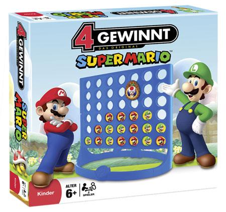 4 Gewinnt - Super Mario