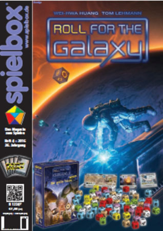 """Spielbox 04/2016 inkl. Sonderkarten """"Abenteuer"""" für Aventuria"""