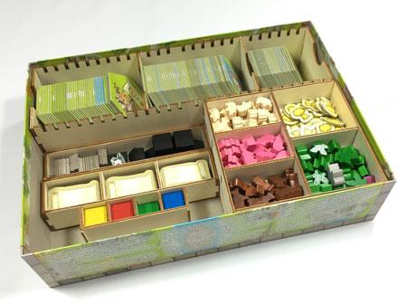 GeekMod - Sortierbox aus Holz für Keyflower