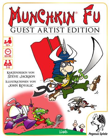 Munchkin Fu – Guest Artist Edition - Kovalic-Version
