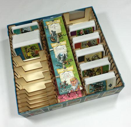 GeekMod - Sortierbox aus Holz für Imperial Settlers