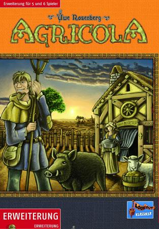 Agricola Kennerspiel - 5-6 Spieler Erweiterung