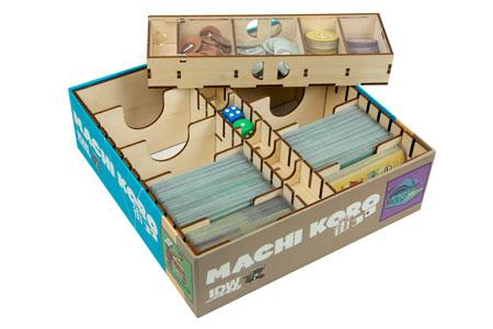 The Broken Token - Sortiereinlage für Machi Koro aus Holz