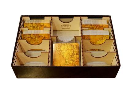 The Broken Token - Sortiereinlage Crypto aus Holz