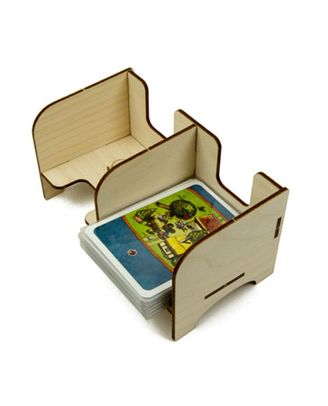 The Broken Token - Standard Kartenhalter mit 2 Ablagefächern