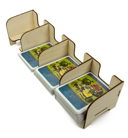 The Broken Token - Standard Kartenhalter mit 4 Ablagefächern