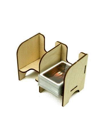 The Broken Token - Mini Kartenhalter mit 2 Ablagefächern