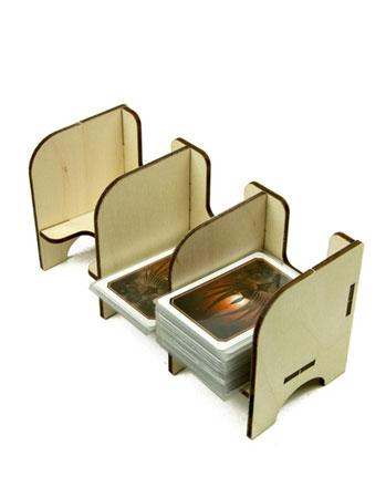 The Broken Token - Mini Kartenhalter mit 3 Ablagefächern