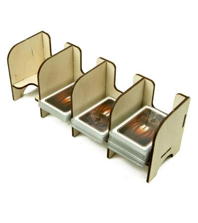 The Broken Token - Mini Kartenhalter mit 4 Ablagefächern