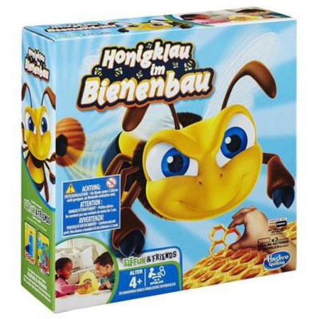 Honigklau im Bienenbau