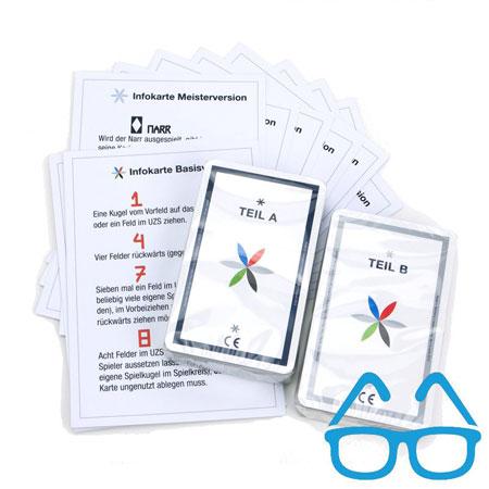 TAC - Kartenset für sehbehinderte Menschen mit Infokarten