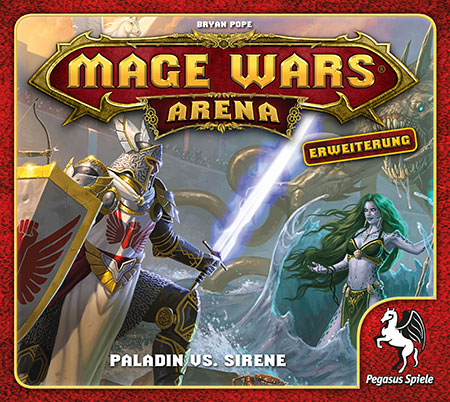 Mage Wars - Arena - Paladin vs. Sirene Erweiterung (dt.)