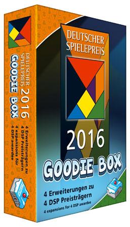 Deutscher Spielepreis 2016 - Goodie Box