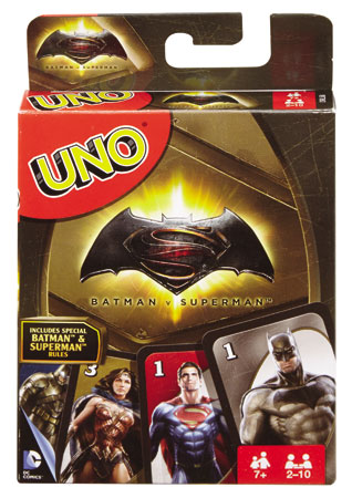 UNO Batman vs. Superman