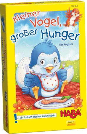 Kleiner Vogel, großer Hunger