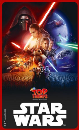 TOP TRUMPS - Star Wars  Episode 7