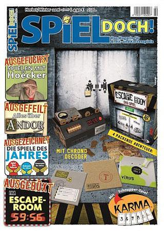 Spiel Doch! - Magazin 02/2016 inkl. Schnupperspiel Karma von Amigo