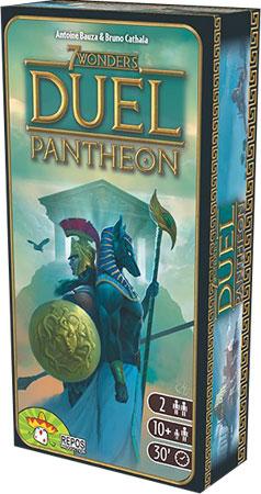7 Wonders - Duel - Pantheon Erweiterung