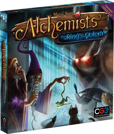 Die Alchemisten - Der Golem des Königs Erweiterung