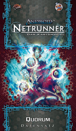 Android Netrunner Kartenspiel - Quorum (Datensatz/Krisenherd-Zyklus 6)