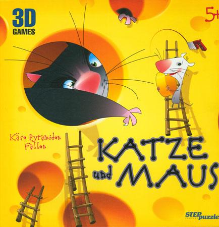 Katze und Maus - Käse Pyramide Fallen