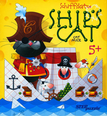 Katze und Maus - Schiffskatze