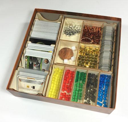 GeekMod - Sortierbox aus Holz für Terraforming Mars