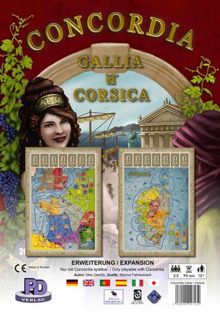 Concordia - Gallia & Corsica Erweiterung